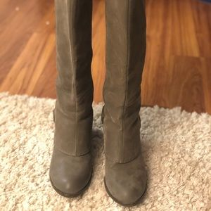 Fergalicious knee high boots size 9.5